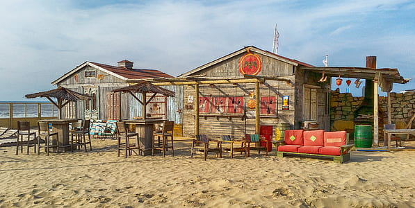house at beach