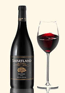 2014 Swartland Bush Vine Pinotage bottle