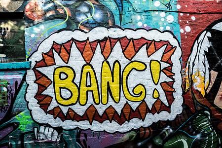 Bang wall art