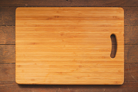 brown wooden chopping board