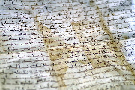 document, parchment, the middle ages, princely, royal, history