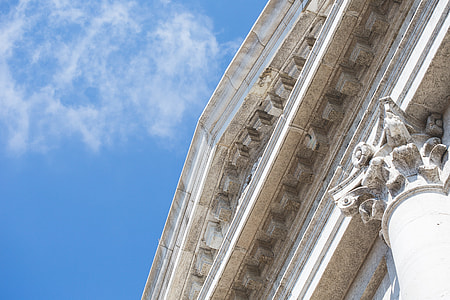 Venice Cathedral Architecture Detail