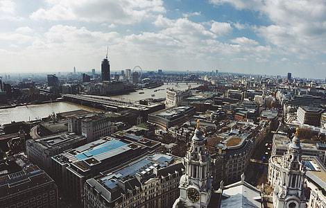 panorama birds eye photography of Urban state