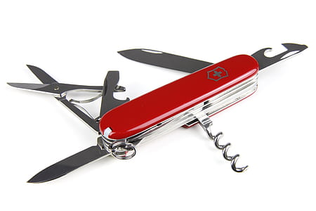 Red Swiss Multi Function Tool