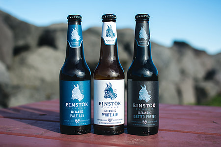 Icelandic crafted bottled beers