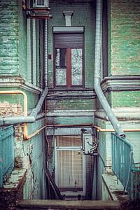 white panel door photo during daytime