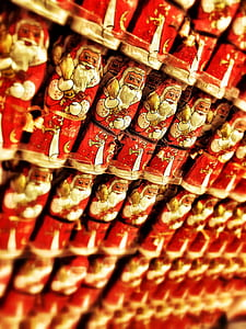 Santa Claus figurine lot