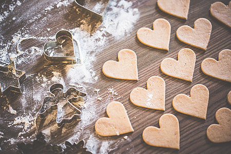 Christmas Baking: Lovely Yummy Hearts