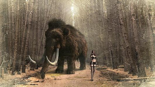brown and black mammoth game screenshot