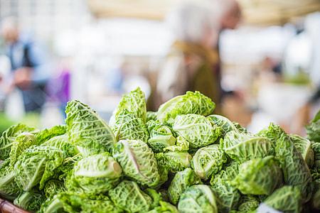 Fresh and Healthy Veggies at Farmers Market