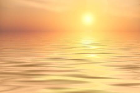 cal ocean during sunset