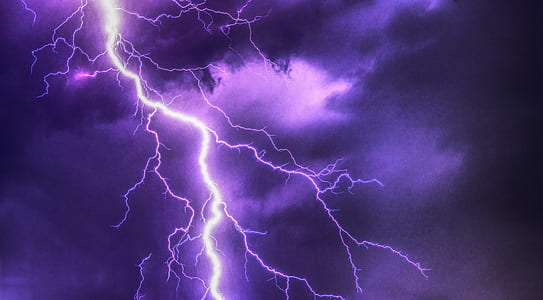purple lighting digital wallpaper