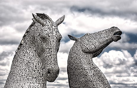 The Kelpies landmark