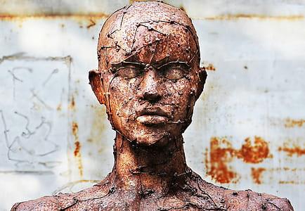 human statuette