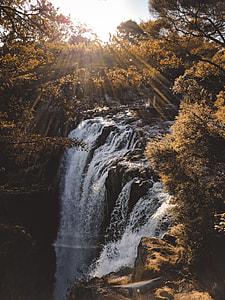 Sunlit Falls