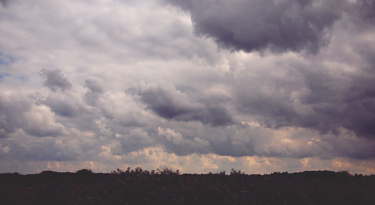 cloudy sky view