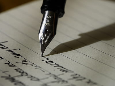 stainless steel fountain pen