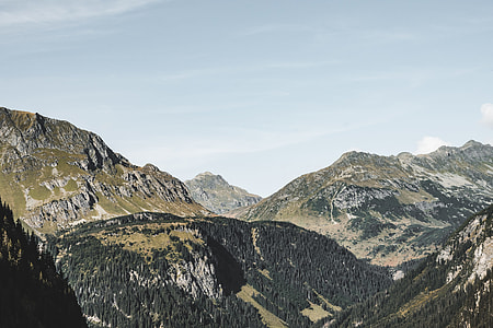 Big Mountains in Pure Austrian Nature