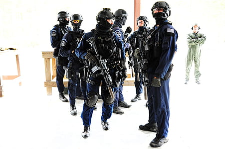 group of SWAT team