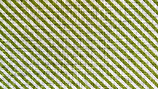 white and green striped textile