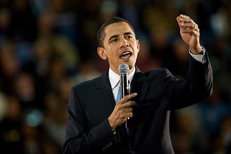 Former U.S. Pres. Barrack Obama