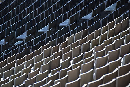white metal chair lot