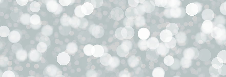 gray and white bokeh photography