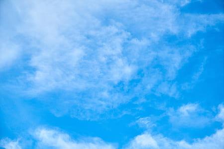 clear blue sky photo