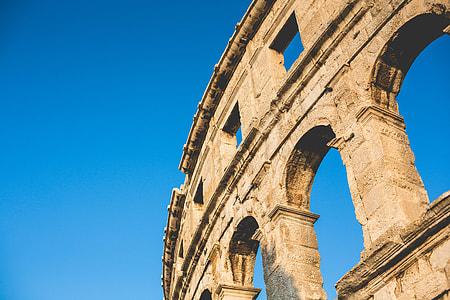 Part of Pula Roman Arena, Croatia