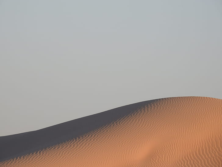 sand under blue sky