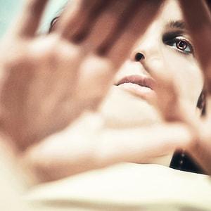 women's brown eye