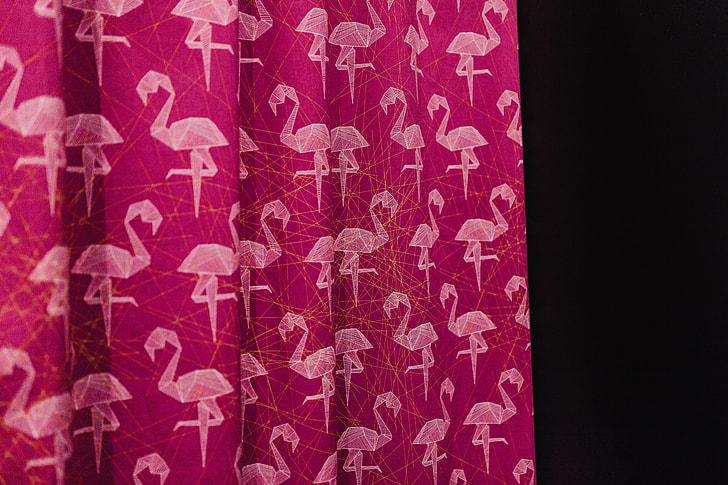 Pink Flamingo Fabric