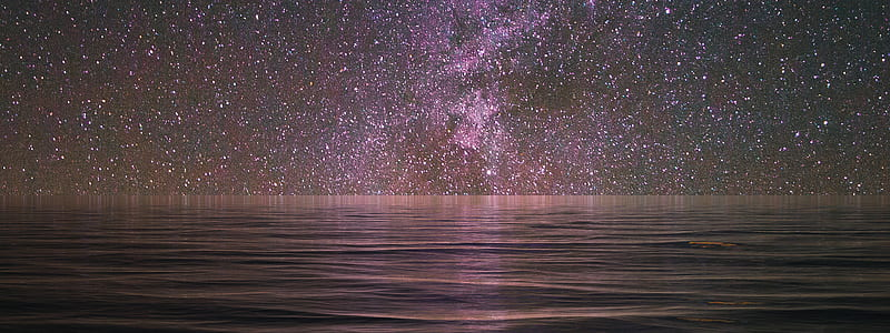 body of water and galaxy