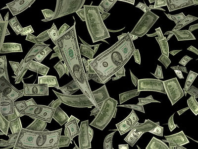 U.S dollar banknote lot