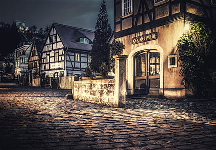 street during night