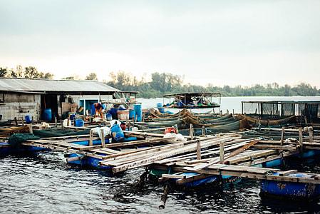 boat, boat house, building, marina