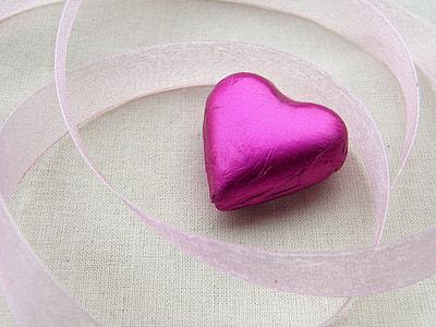 pink heart decor