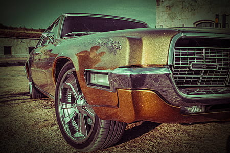brown sedan