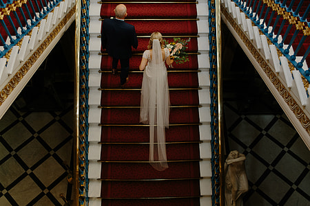 Wedding bride and dress