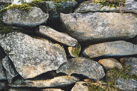 pile of stone