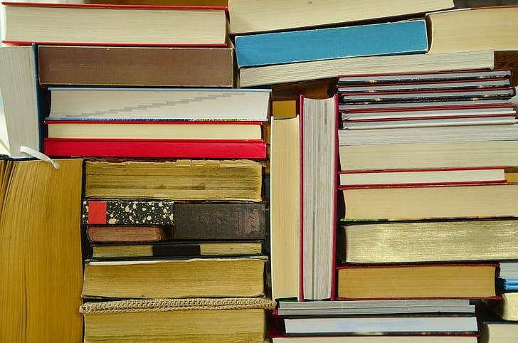 hardbound book lot