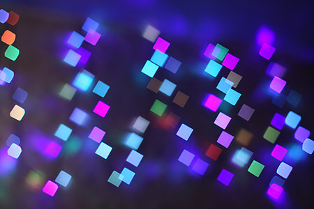 color, LED lights, abstract, lights, bokeh, illuminated