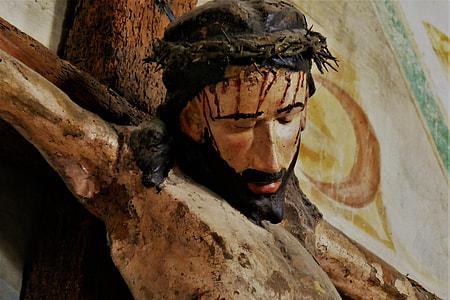 Jesus died on the cross