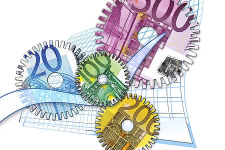 banknote machine illustration
