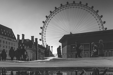 Black White Big Wheel