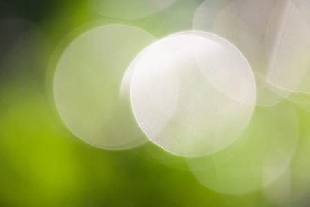 bokeh, green, out of focus, blurry, blur, circle
