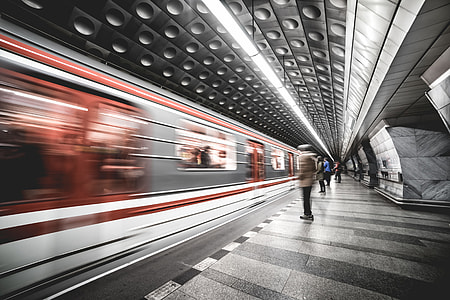 Prague Metro Subway Public Transport Network