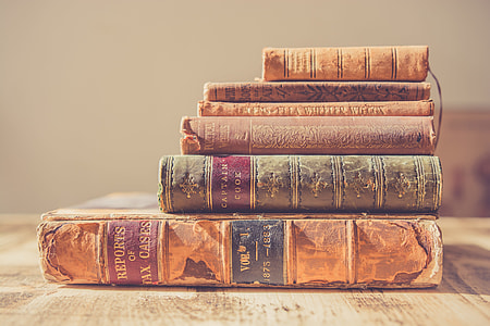Stack Antique Books