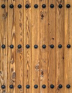 brown wooden pallet decor
