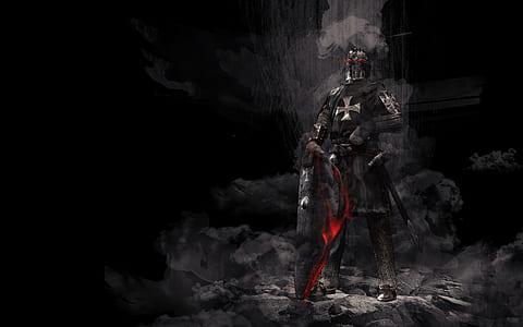 knight warrior illustration